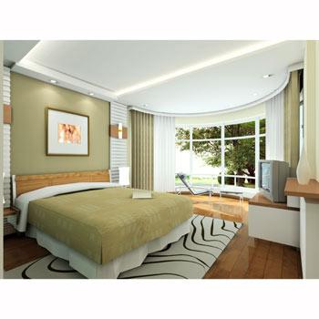 卧室墙壁涂什么颜色好看?