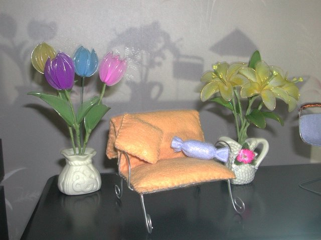妈妈做的丝袜花 [郁金香制作过程在第4页