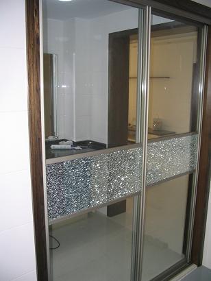 主题:厨房铝合金推拉门的门套怎么弄?