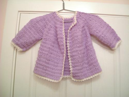 妈妈纯手工编织婴幼儿用品专卖开始了 p5新增三件新作的不同颜色披风