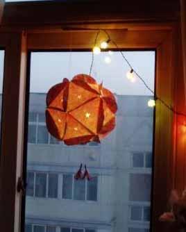 教程 绣球灯笼的作法