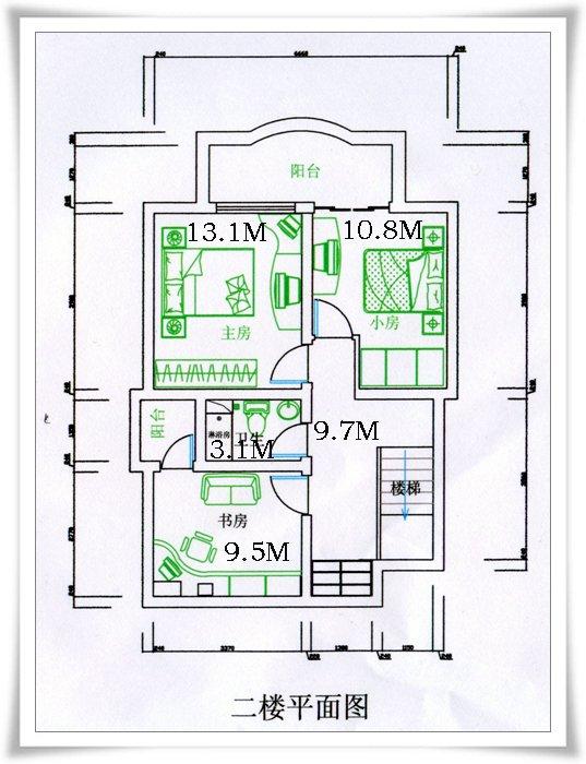 请教 复式房的装修公司设计预算表和平面图,请老法师们看看
