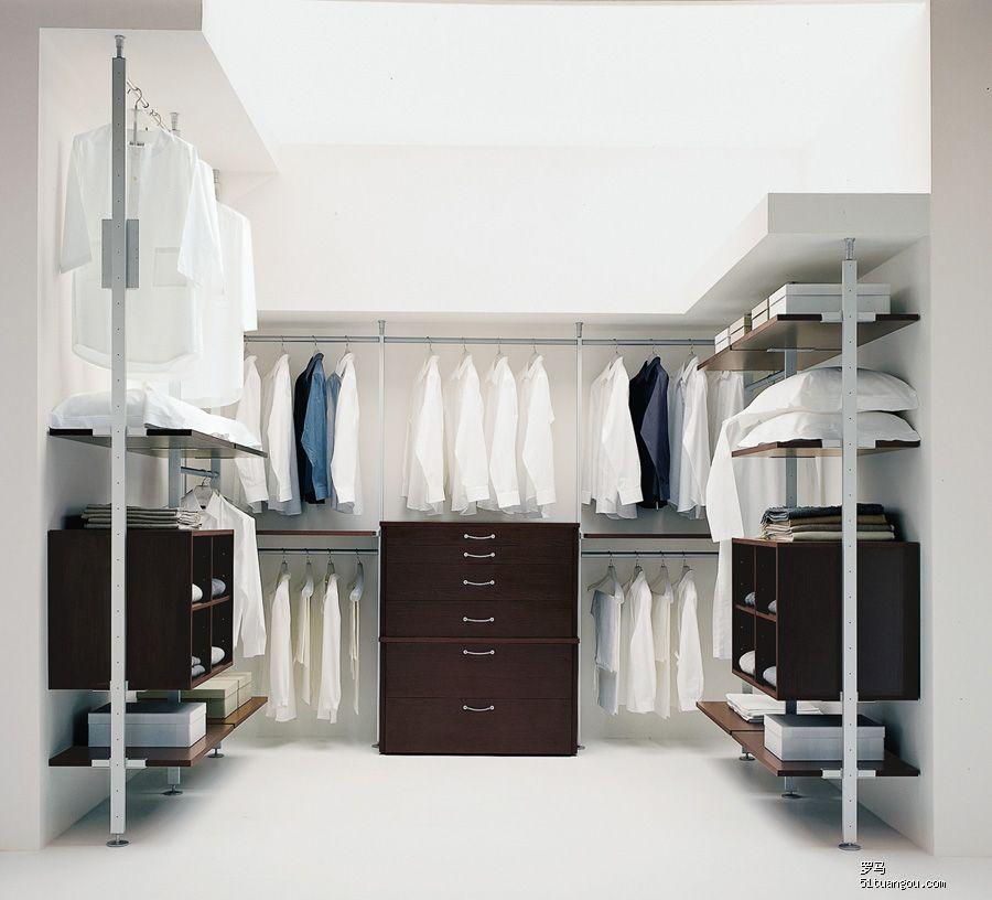 設計圖分享 走入式衣柜 沈陽高端  哪家有步入式衣櫥或衣柜的內部格局