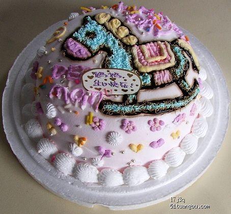 羊蛋糕图片可爱图片