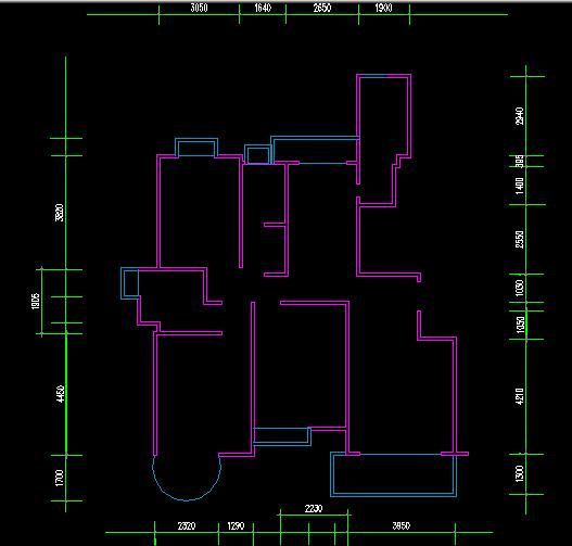 设计图分享 街道两间房子设计图  二楼农村房子设计图 宽404×464高