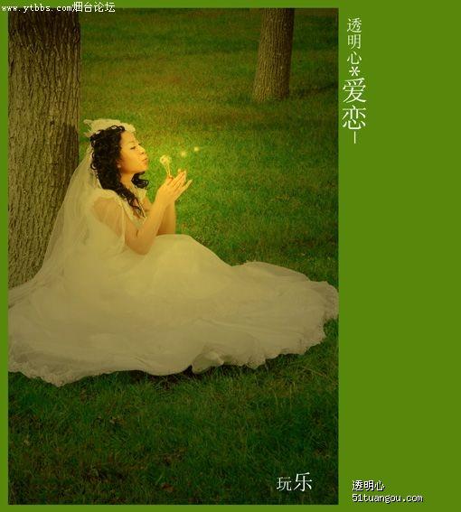 烟台婚纱照的成本_烟台MM的婚纱照