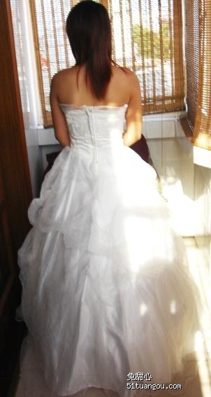 婚完 转让婚纱 礼服 旗袍