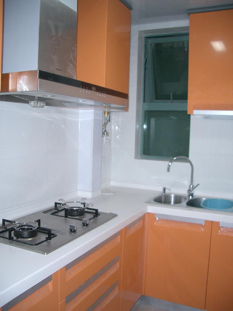 厨房吊柜颜色 - 篱笆网