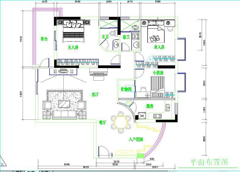 主题:设计图来了,打造圆形餐厅-请各位点评设计图!