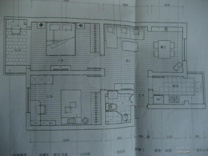 简单的北欧风格 小屋装修中,待购地板,灯具, 装修日记高清图片