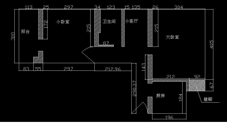 家庭套房电路布置图