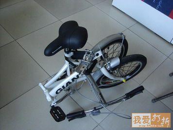 低价转让捷安特折叠自行车图片