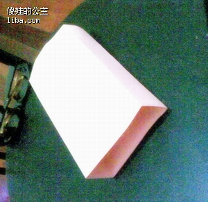 长方体盒子手工制作平面展示图
