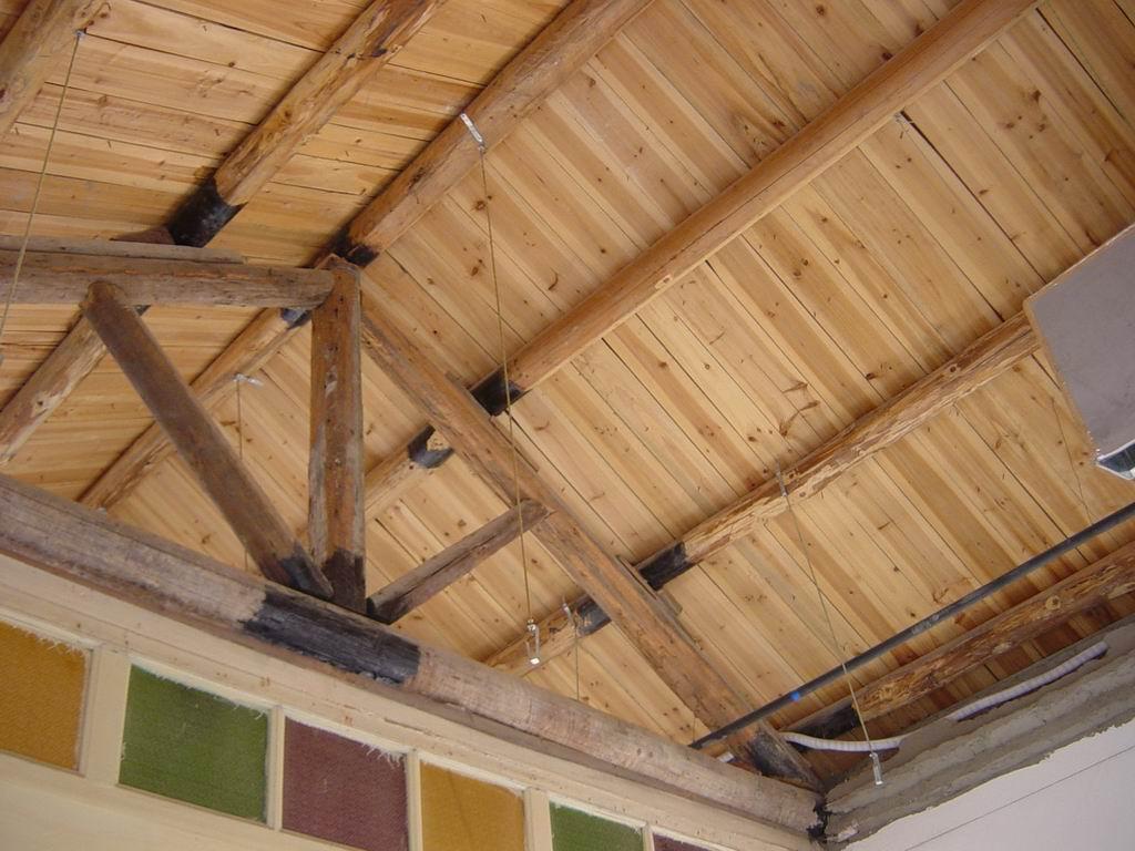 木结构坡屋顶施工过程