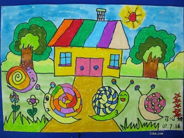 【高清】小班幼儿图画>>幼儿元旦图画大全>>秋天的
