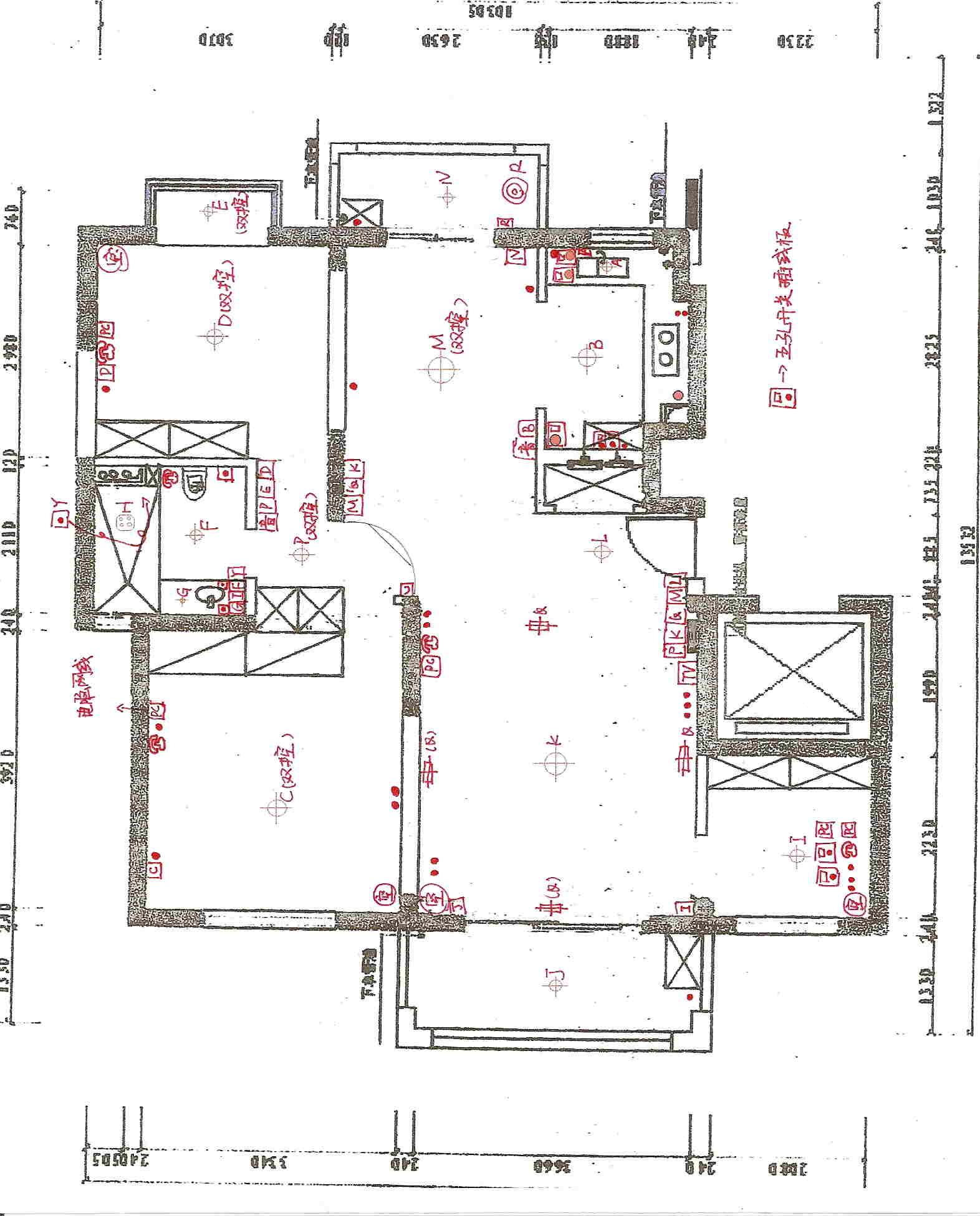 教室平面图设计图纸