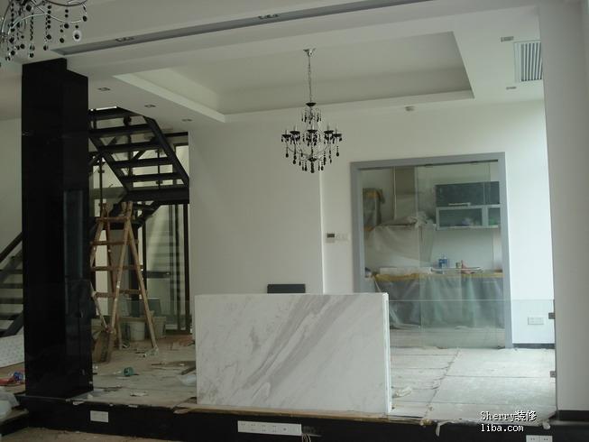 中式的房子,简约的风格,B Q的装修 P60 圣诞节的客厅