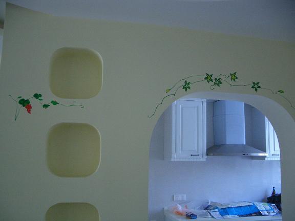 门框墙绘图片素材