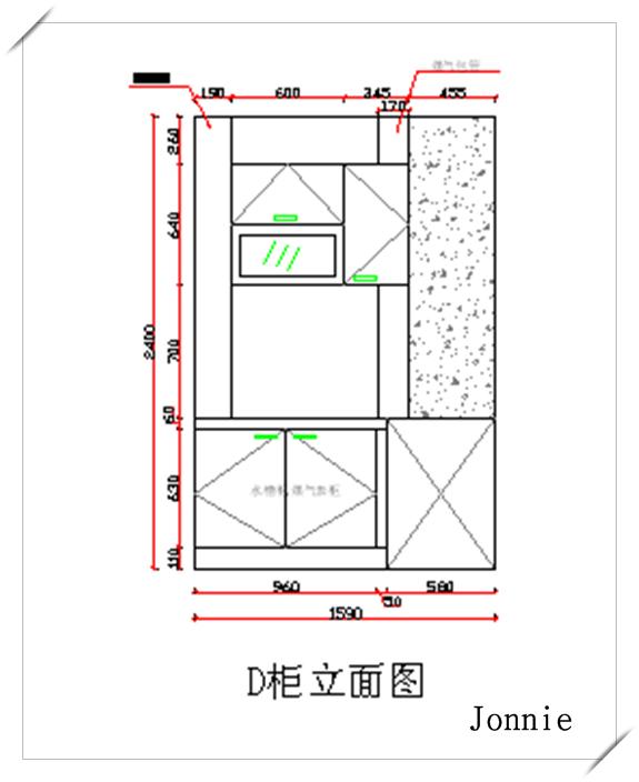 垃圾桶设计施工图