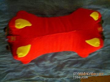 布老虎鞋子,老虎枕头 纯手工制作