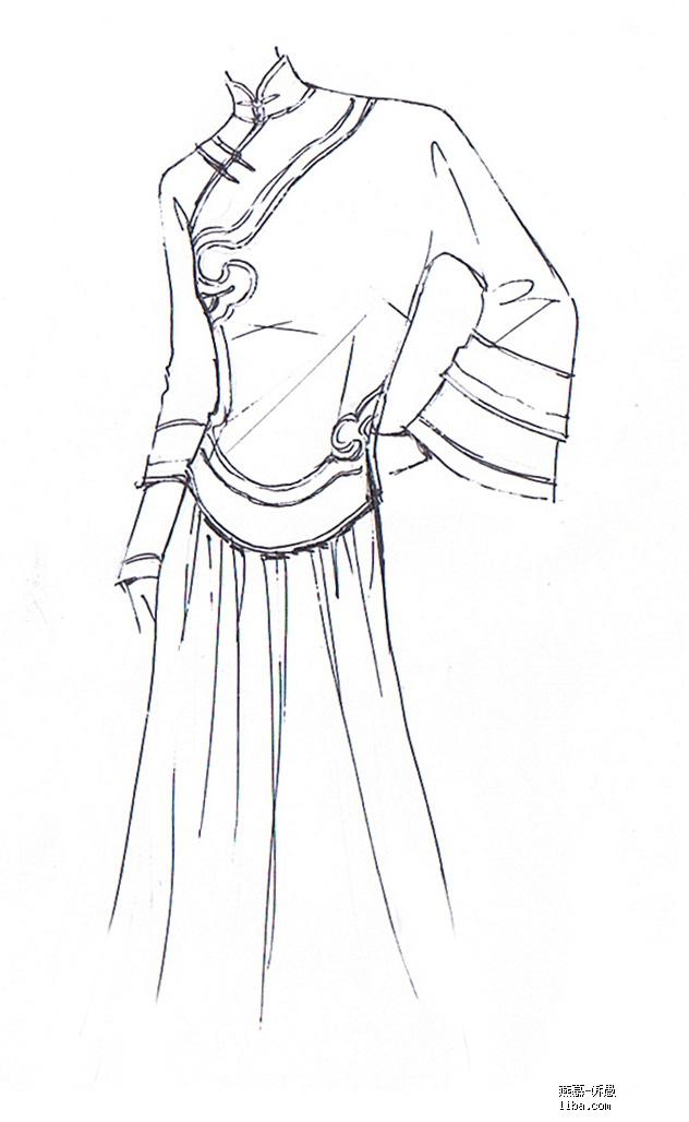 中式摩登 旗袍定制 自发交易区最具特色的小店
