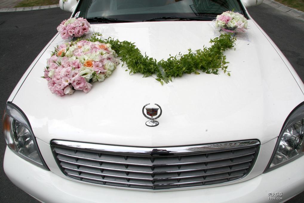 婚车的扎花和原来确认好的完全不一样,感觉完全不同图片