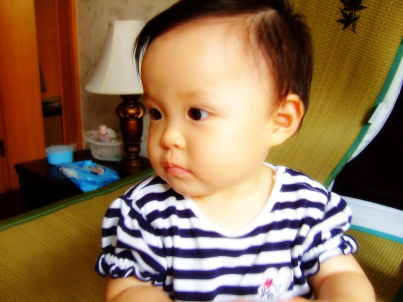 一周岁女宝宝的发型分享展示