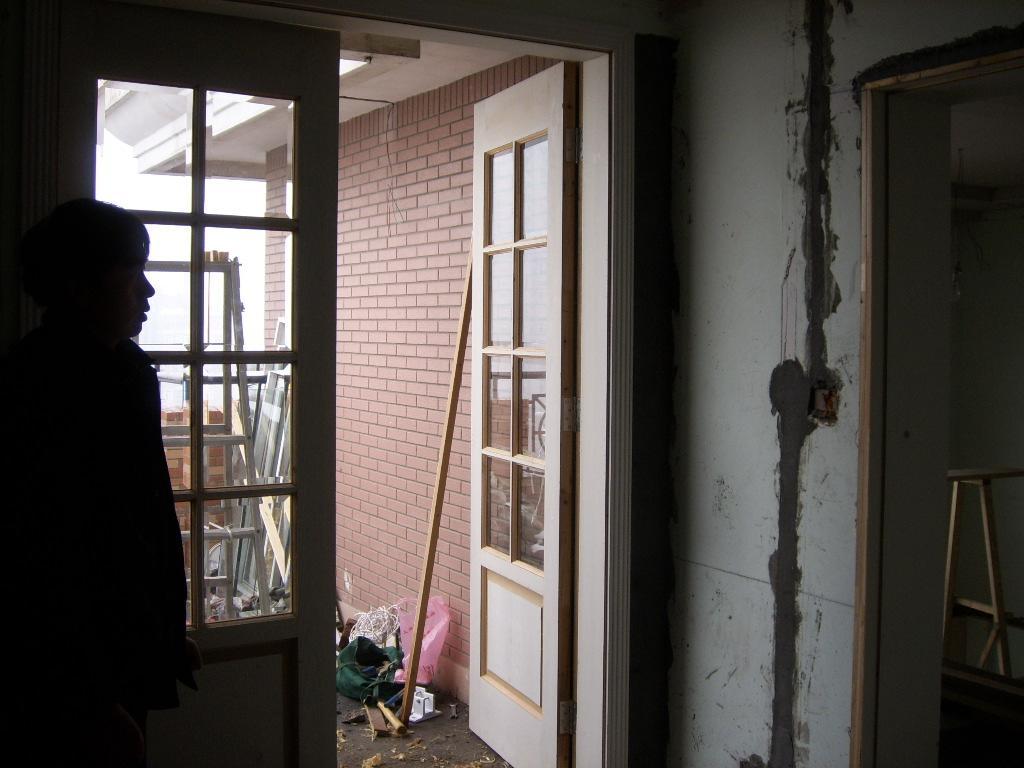 卧室阳台门
