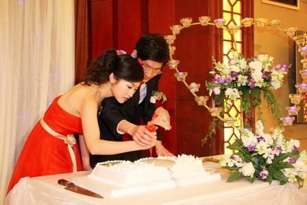 梦中的婚礼,童话般的场景~~感恩那一天!