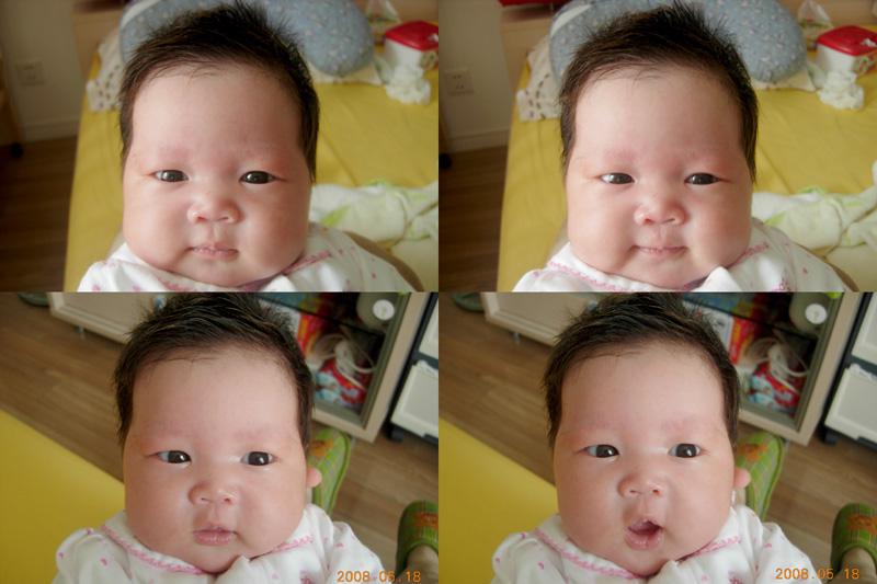 女宝宝满月发型 - 婴儿女宝宝