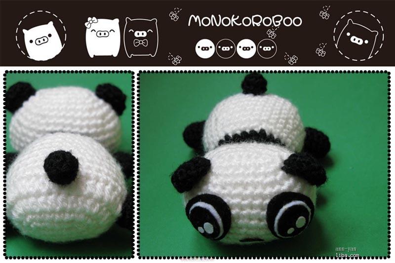 熊猫袜子娃娃 步骤