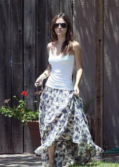 今年夏天流行这样的裙子么