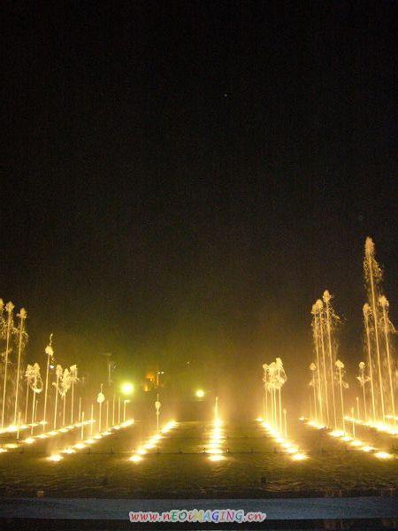 格酒店 蠡湖 灵山,喷泉太美了