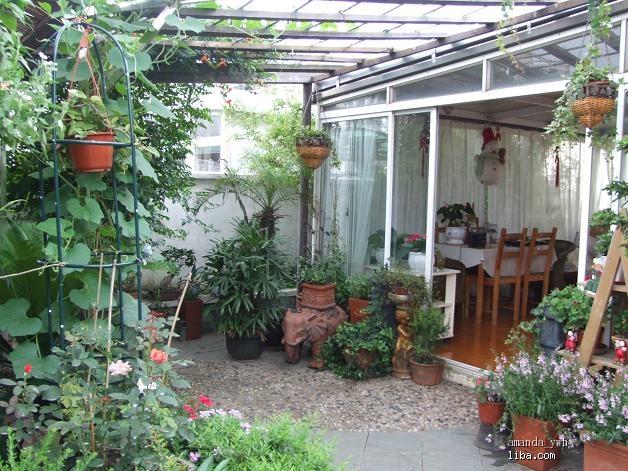 庭院小花园设计实景图100平