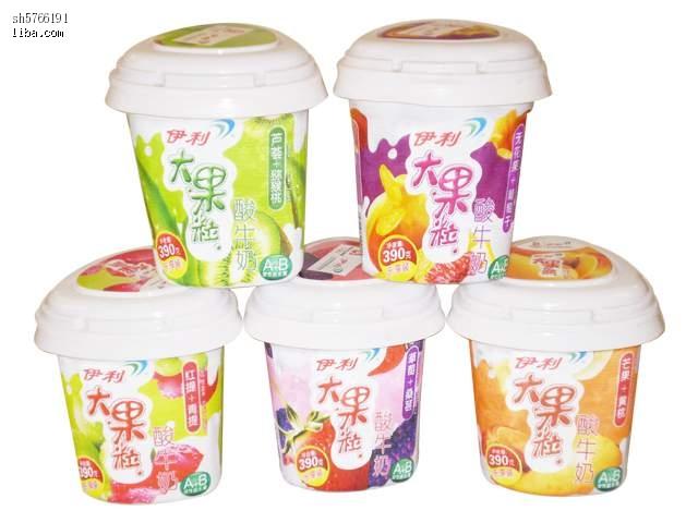 伊利果粒酸奶,大果粒,进来看看噢 比市场价便宜图片