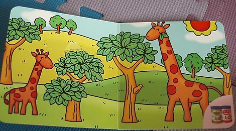 动物园儿童画内容图片展示_动物园儿童画图片下载
