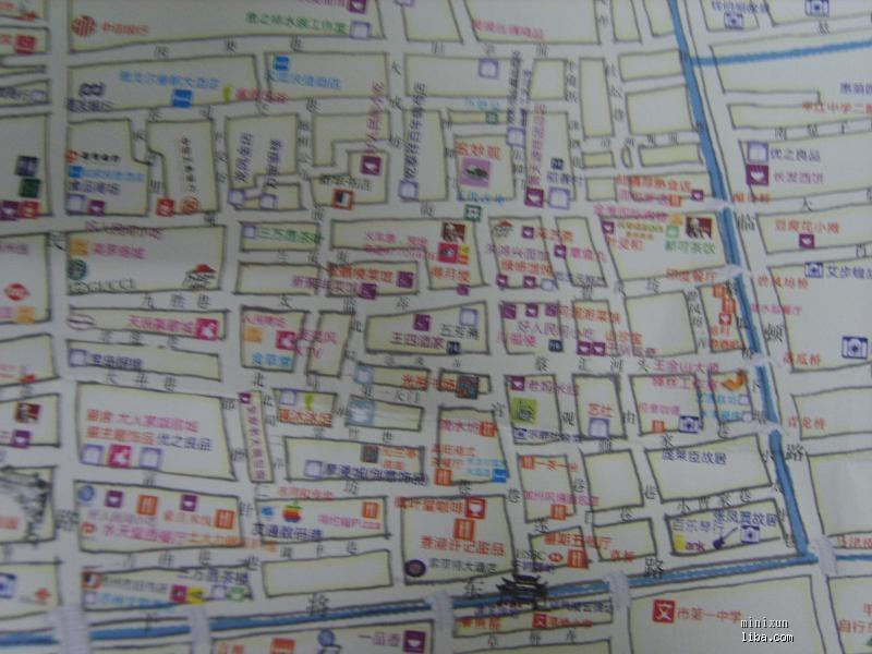 苏州手绘地图,苏州骑行地图