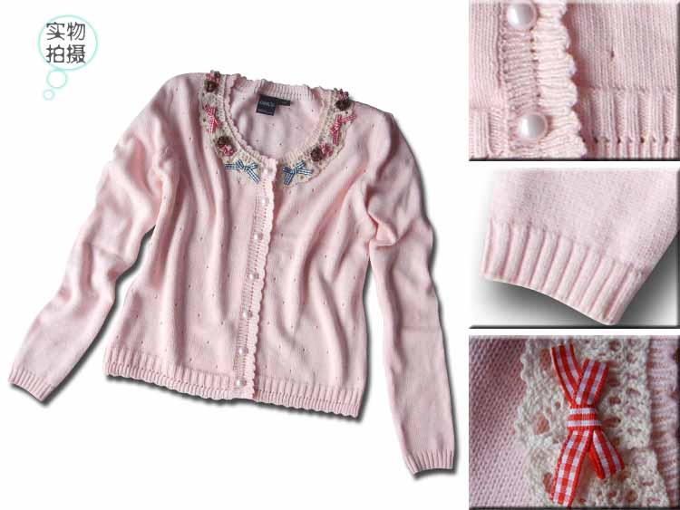 转让9成新30码裤子和L号粉色开衫