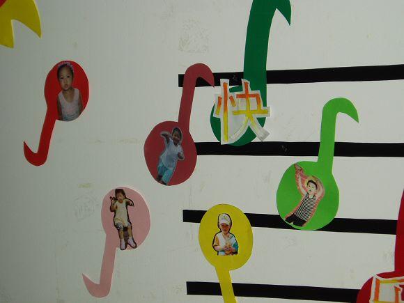 幼儿园室内音乐符号图片