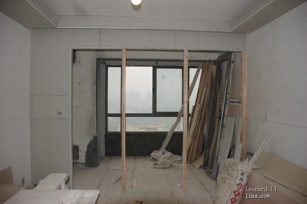 木工客厅隔断墙