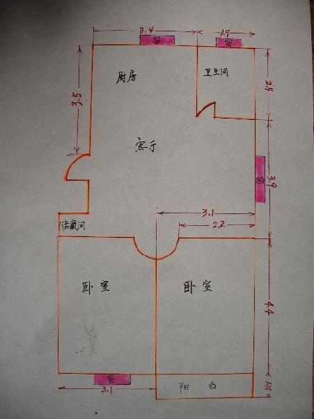 80平米的房子装修如何设计,大家帮忙出出点子