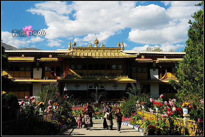 纪念一段甘苦同行的旅程--- 06年9月我们摩行在青藏公路