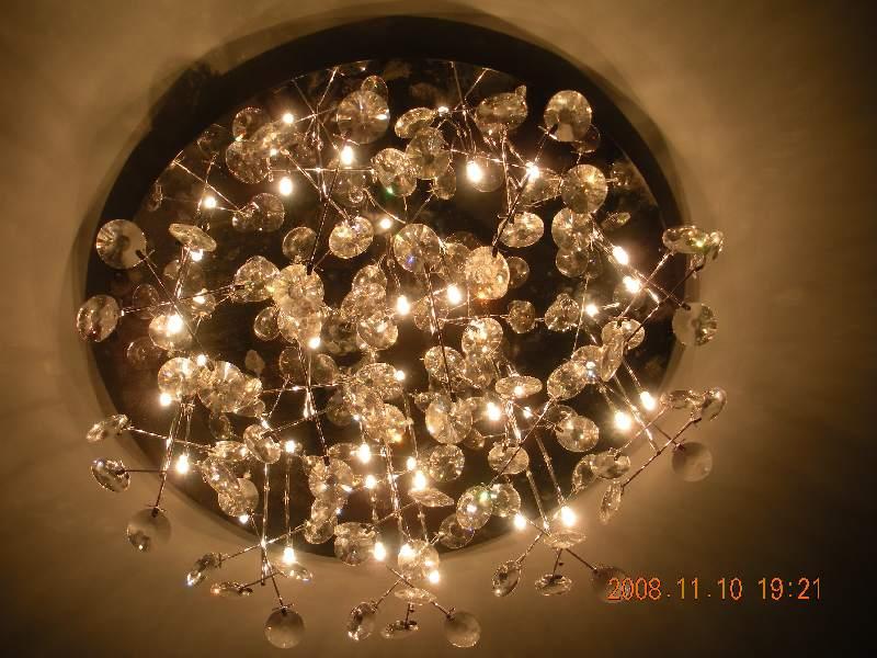 客厅水晶灯带遥控