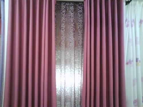 主题:淡粉色的卧室应该配什么颜色的窗帘啊