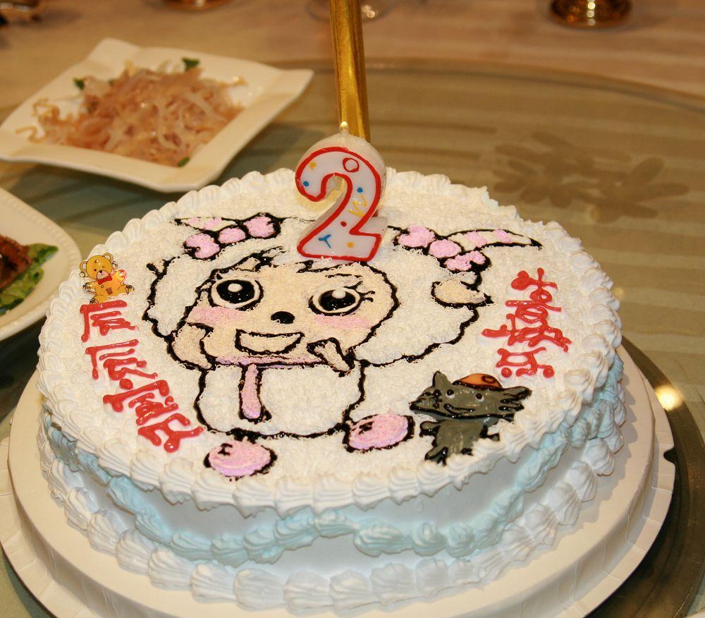 宝宝周岁生日宴,可爱的宝宝,美貌的蛋糕