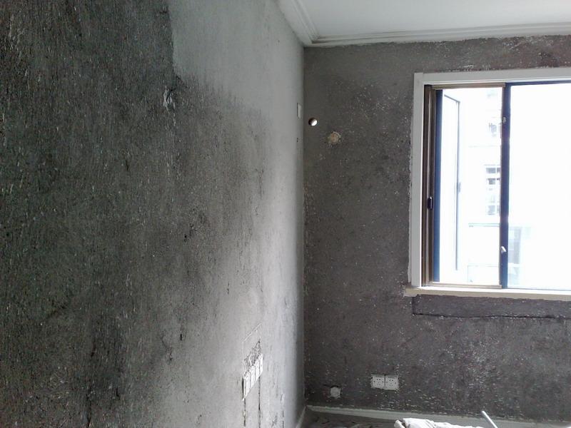 灰色地板搭配乳膠漆效果圖