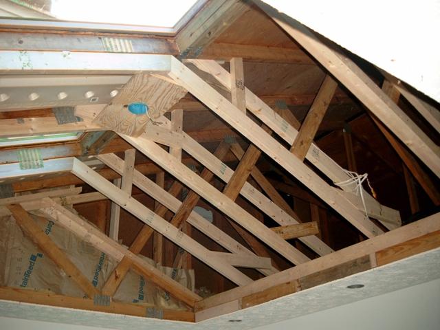 7.斜顶木结构