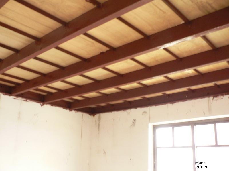 再贴一张我家没有做吊顶的钢结构的图