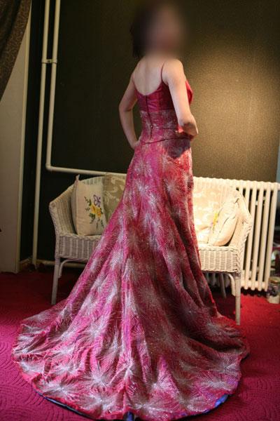 超华丽婚纱 完美私人定制 大秀旗袍 礼服 设计师手稿