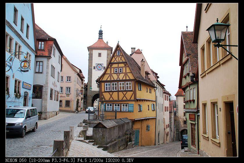 德国小镇图片_【德国小镇埃斯林根Esslingen摄影图片】德国